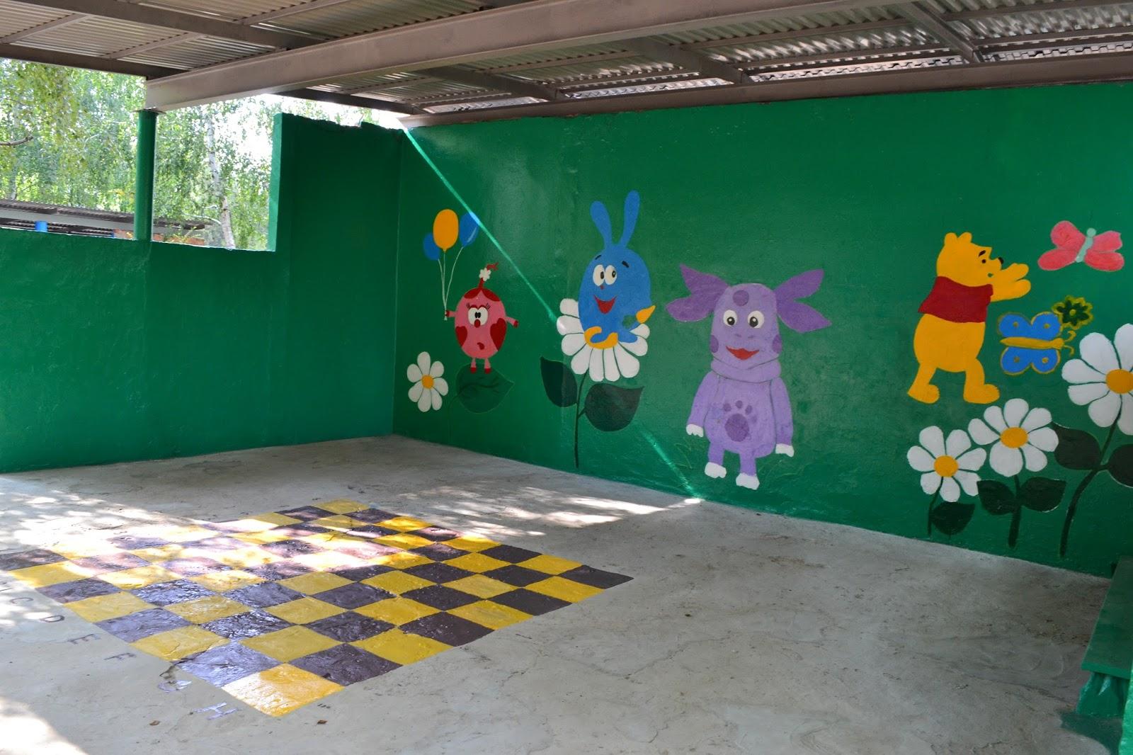 Беседка в детском саду Детская беседка своими руками 13