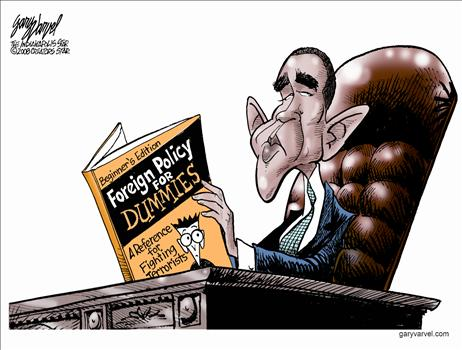 obama reading the dummy book