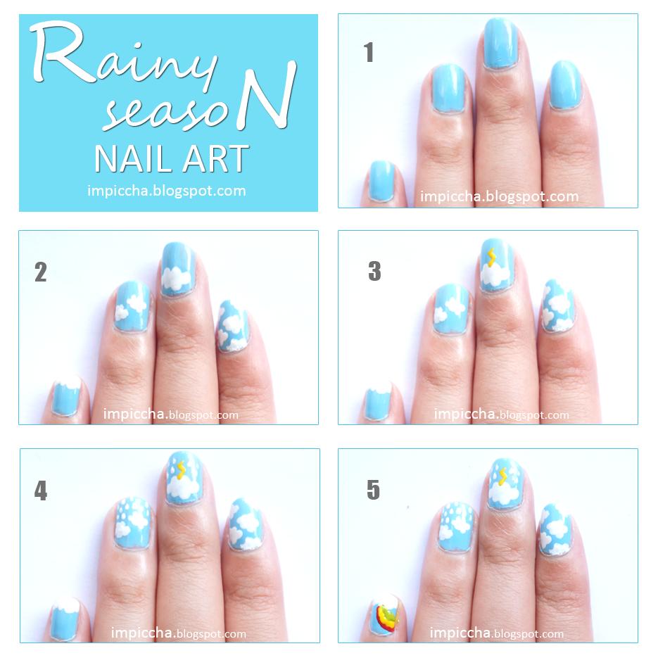 Rainy Season Nail Art