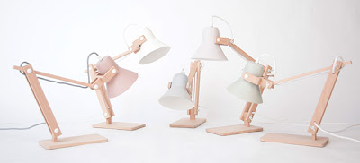 lampes M.OSS bois pastel design