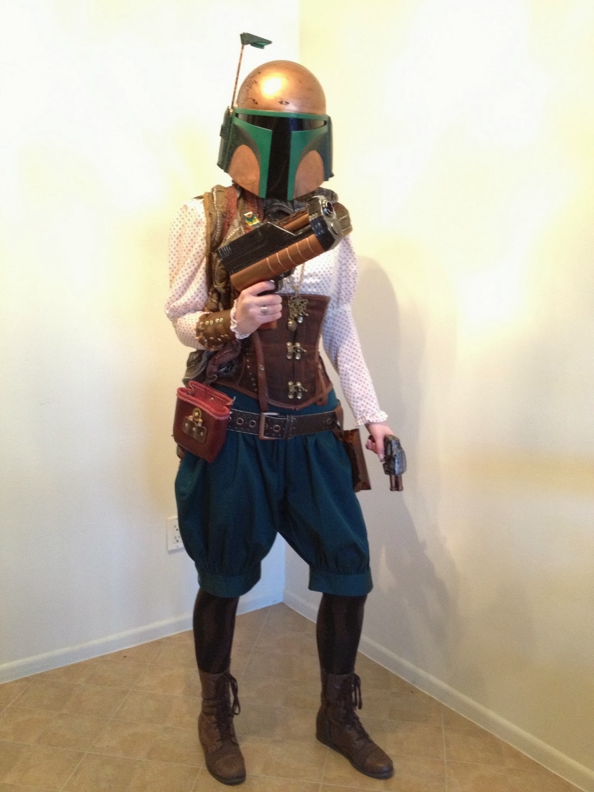 Car Covers Target >> My Things By My Hands: Steampunk Mandalorian Costume: Dapper Fett