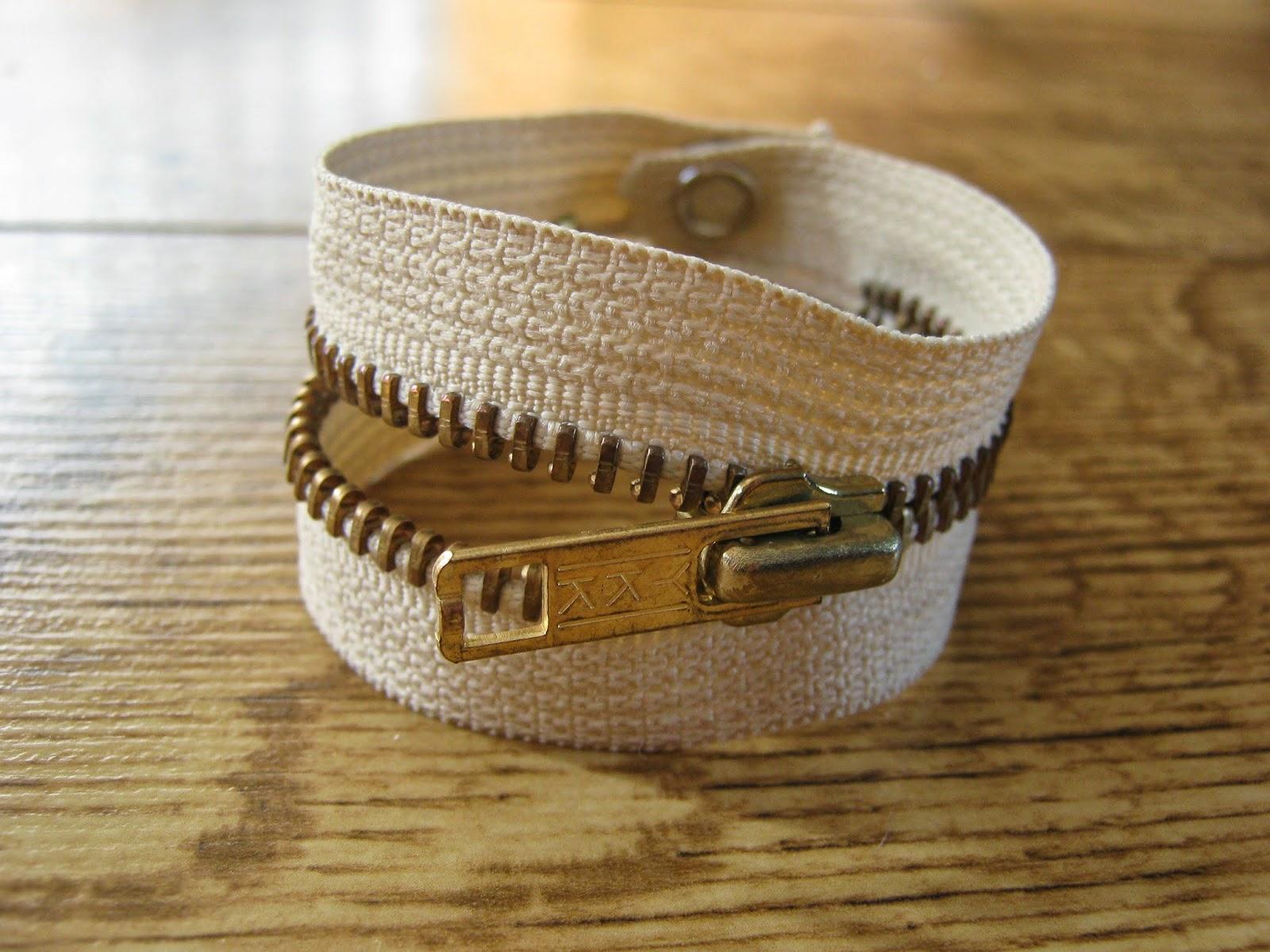 DIY Zip Cuff