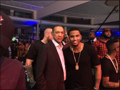 Common Sense Senator Ben Bruce Spotted With Trey Songz