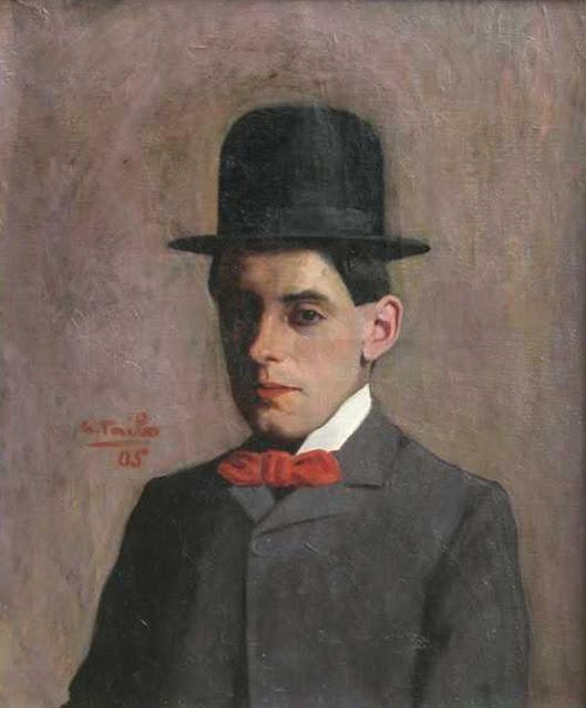 Germán Taibo González , Portraits of Painters, Self Portrait