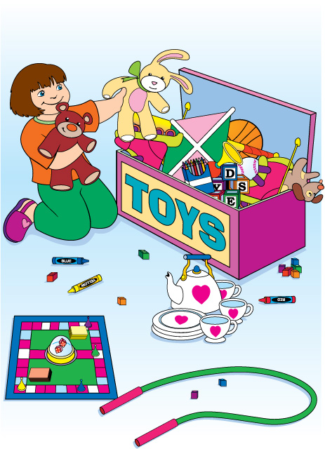 Put Toys Away Clip ArtClean Child Clipart