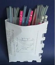REUSE paper,make bag
