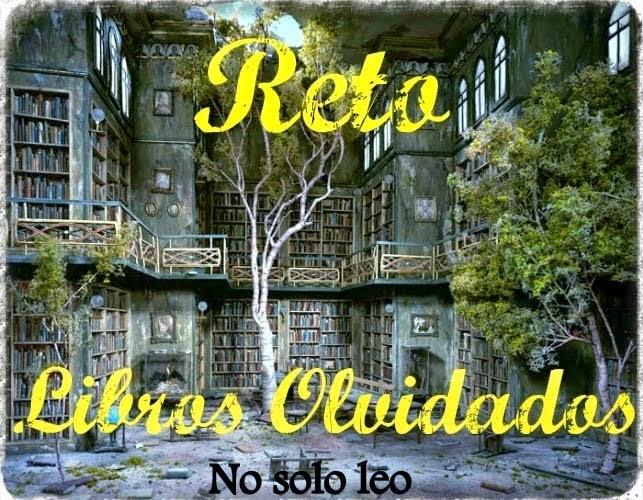RETO LIBROS OLVIDADOS 2017
