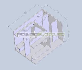 Box speaker subbass planar horn 18inc Selenium 18SW1P