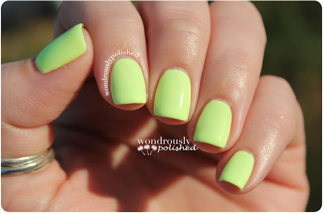 Wondrously Polished May Nail Art Challenge Neon