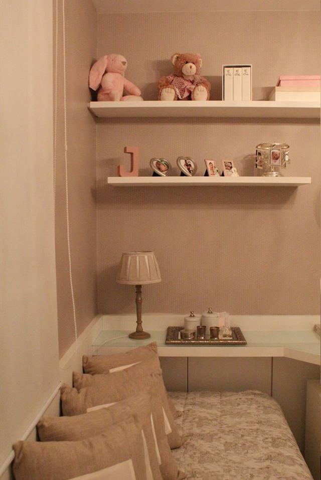 Quarto de bebê menina decorado com ursinhos e cor rosa  ~ Quarto Rosa Seco