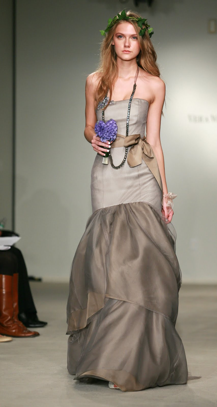 """Wedding Gallery: Vera Wang Evening Dresses Collection """"Forest Fantasia ..."""