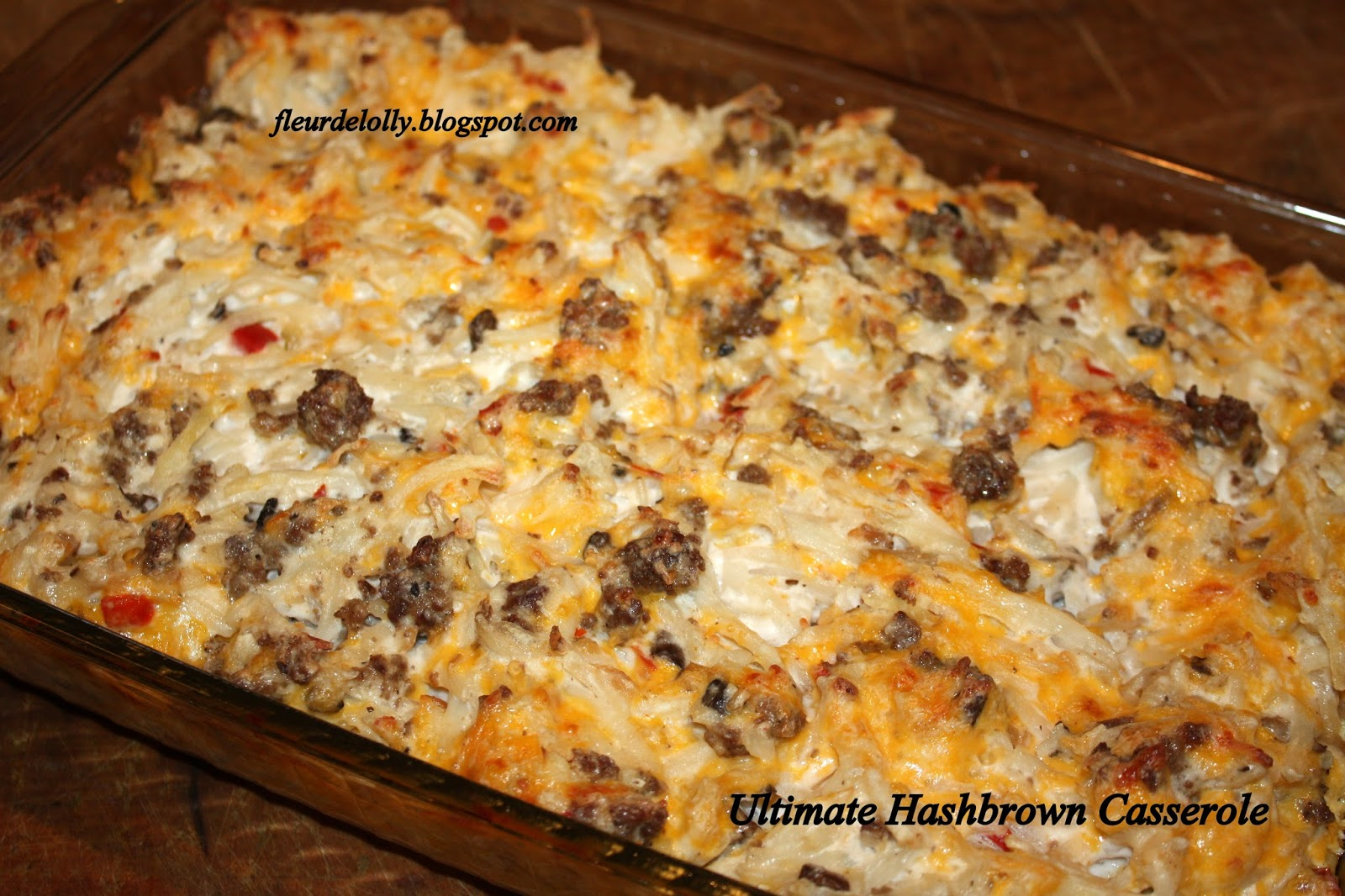 Fleur de Lolly: Ultimate Hash Brown Casserole