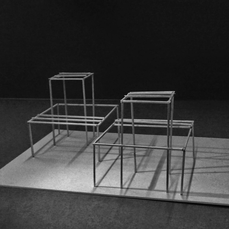 Leben im Bildausschnitt: Modell 3 _ Skelettbau