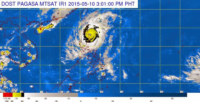 Typhoon Dodong satellite image