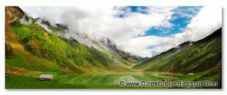 The epic Lake Saiful Muluk.It is located at the northern end of the Kaghan Valley (34°52′37.34″N 73°41′37.71″E) near Naran, Pakistan.