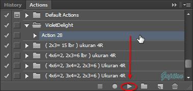 Cara menambah Action pada Photoshop