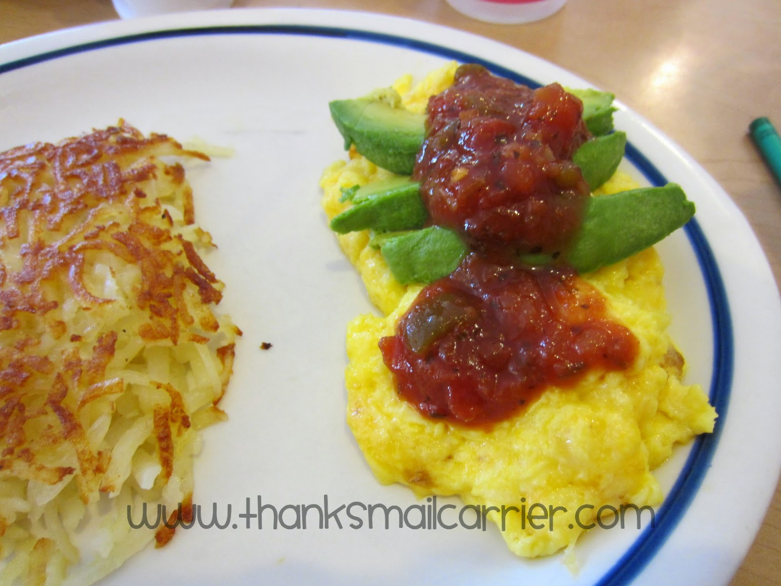 IHOP Californian Scramble