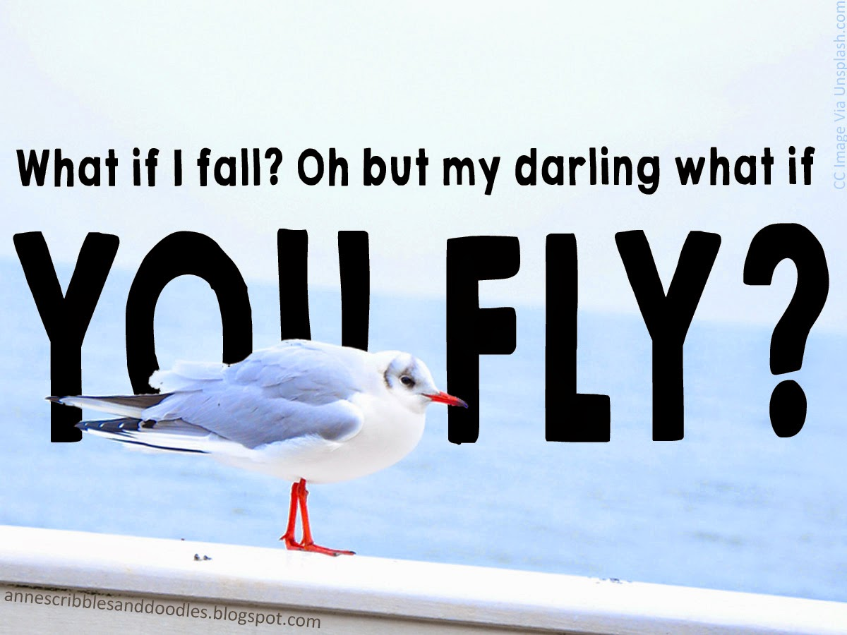 Falling and Flying {Thoughtful Thursday #12}