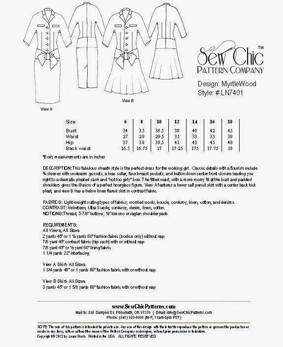 Rhonda\'s Creative Life: Sewing Indie Month, Pattern Hacking, Part 1