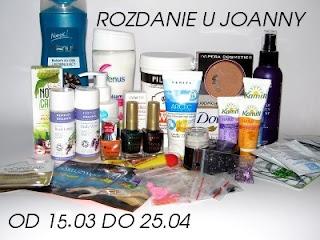 Zapraszam na kolejne rozdanie, tym razem u Joanny :-)