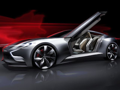 Hyundai HND-9 Sports Coupe Concept