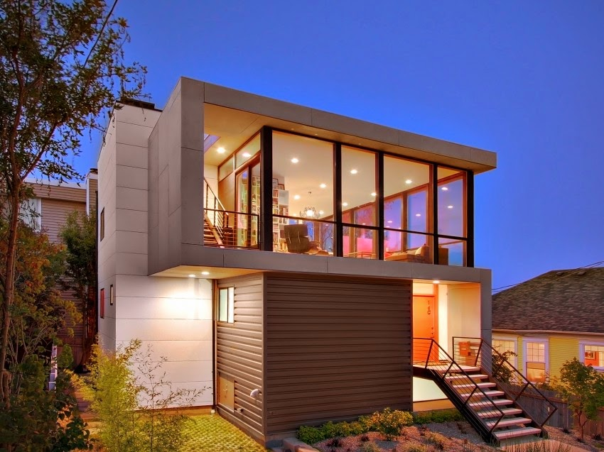 Hogares frescos moderna residencia crocket por pb - Disenos casas modernas ...