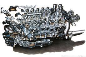 Karakteristik mesin bensin dan mesin diesel
