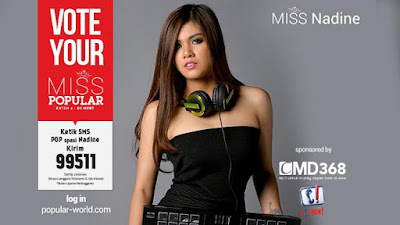 MISS POPULAR 2015 : DJ Nadine