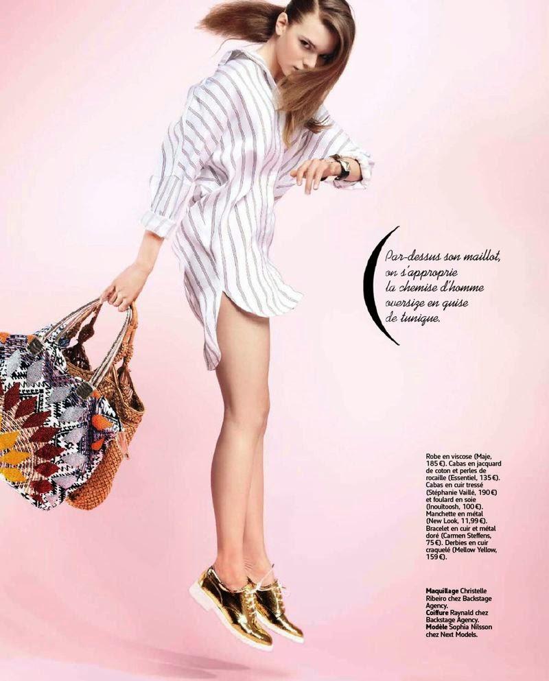 arts cross stitch sophia nilsson marie france magazine france september 2014. Black Bedroom Furniture Sets. Home Design Ideas