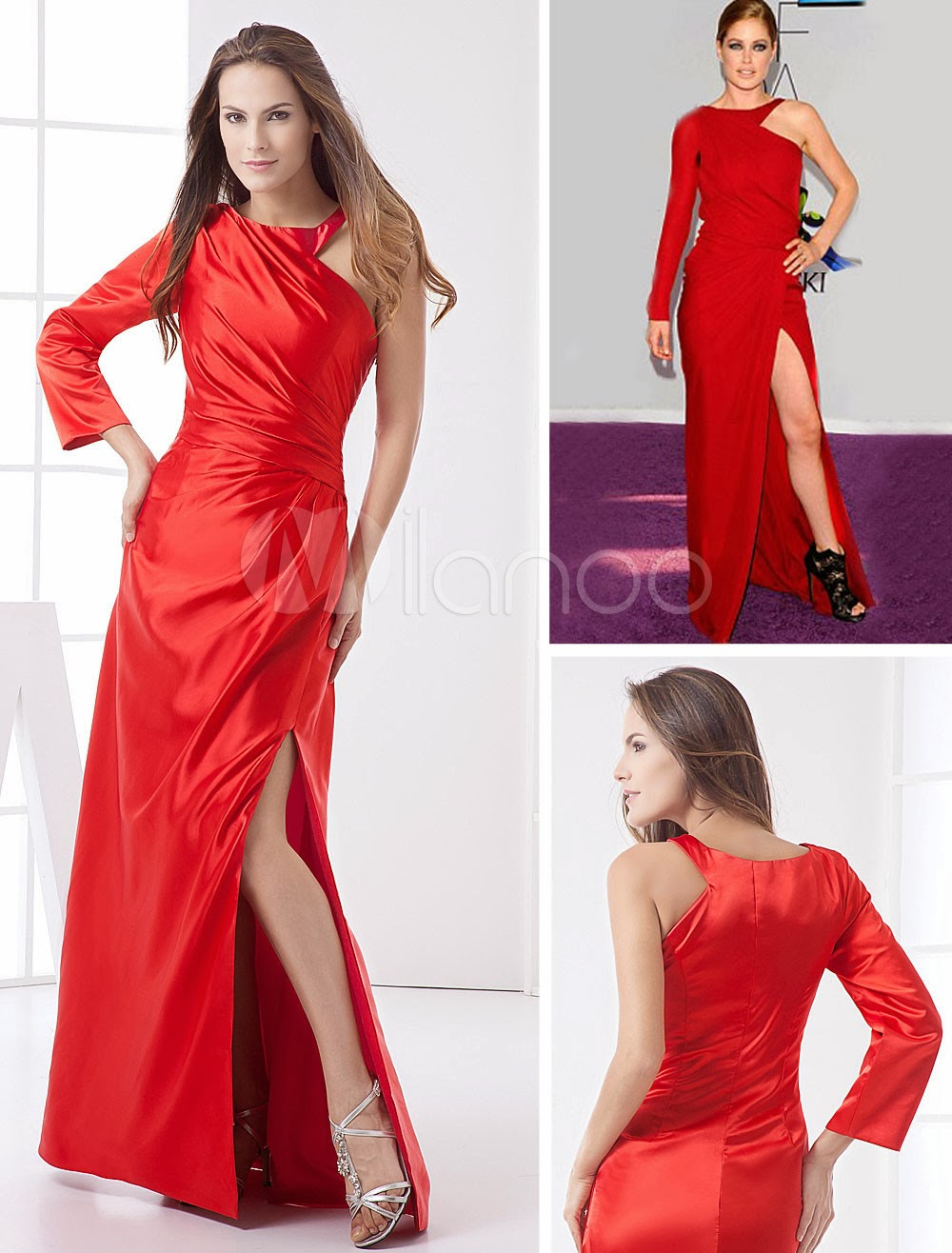 China Wholesale Dresses - Burgundy Spinning Halter Floor Length Evening Dress