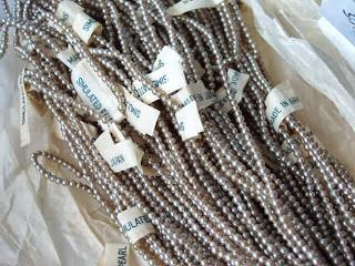 vintage klaaspärlid pärlid Jaapan mdmButiik