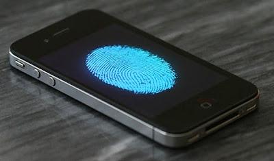 iPhone con sensor de huellas digitales
