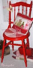 Min røde stol.