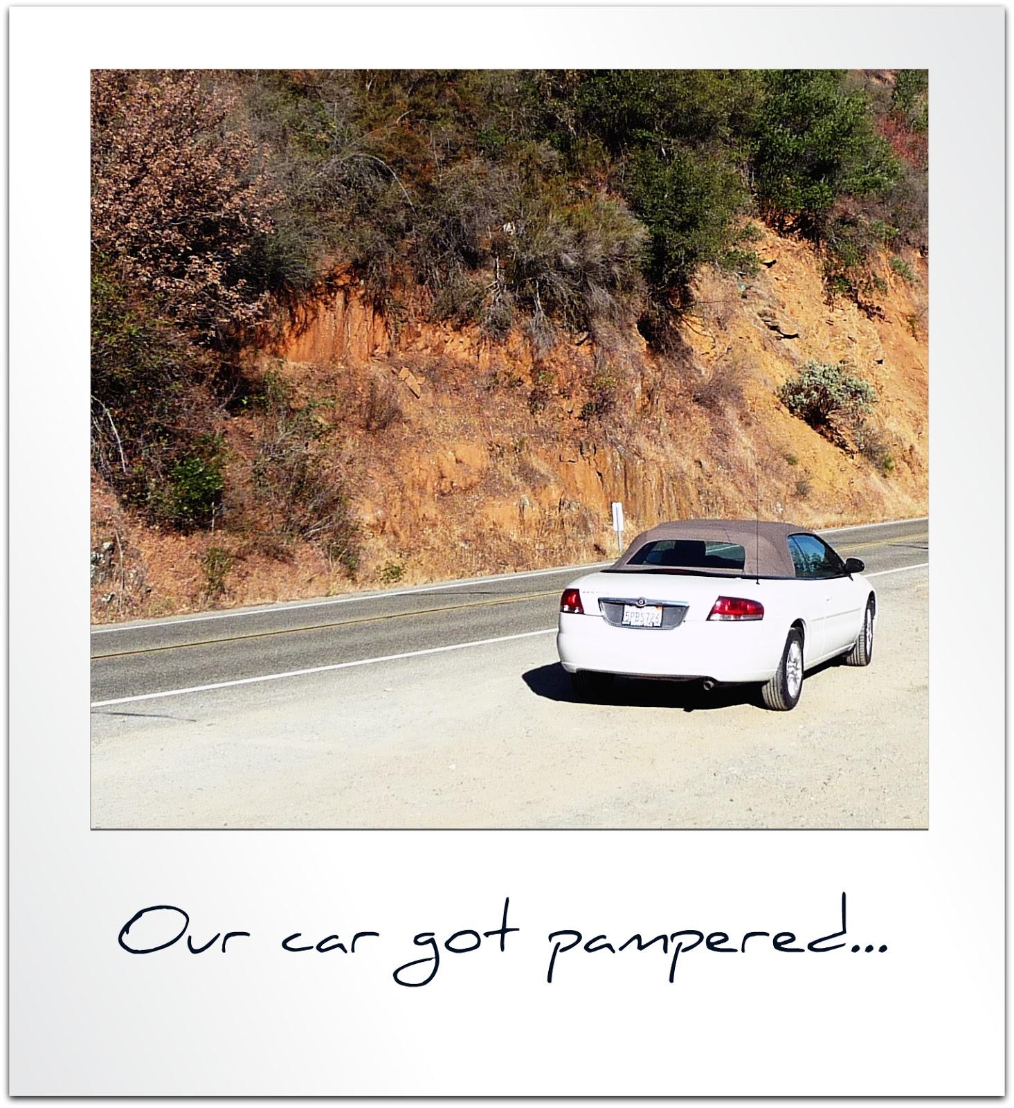 Aux petits soins de la voiture california dreaming - Laver sa voiture au rouleau ...