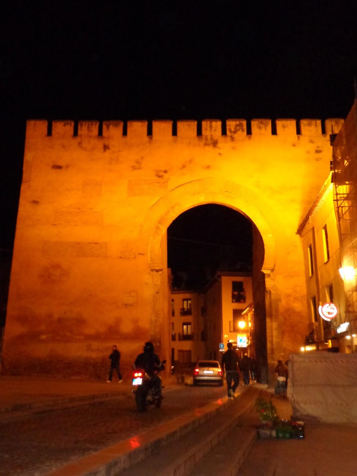 Legado nazari las murallas de granada - Puerta europa almeria ...
