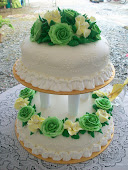 Steambuttercream Wedding Cake
