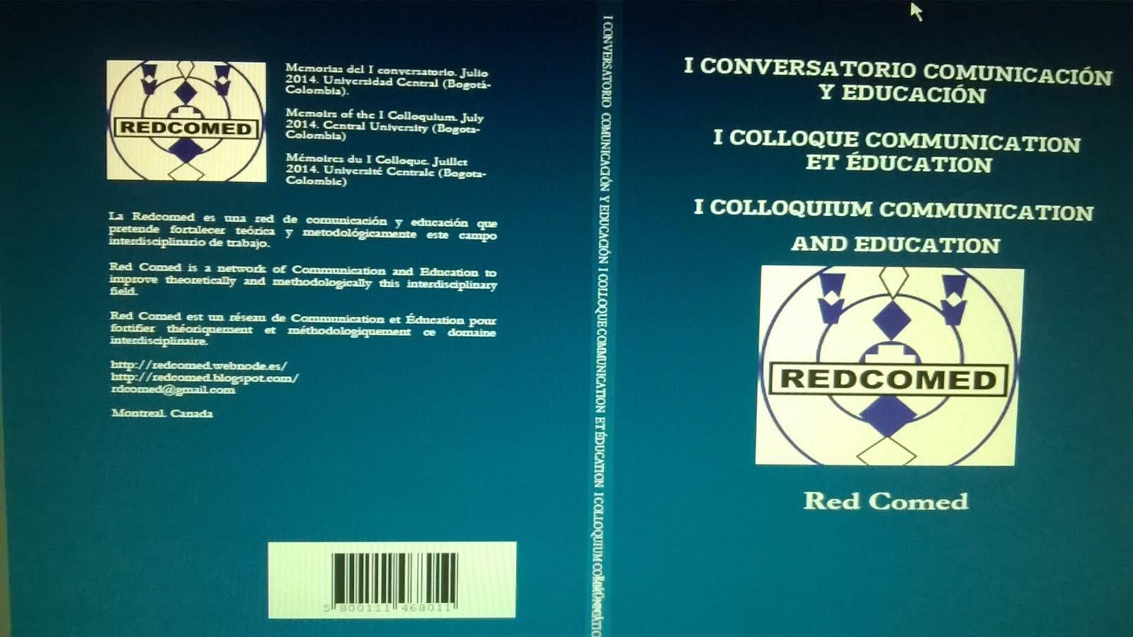 Memorias/Memoirs/Mémoires I Conversatorio/Colloque/Colloquium 08-07-2014