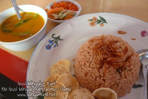 Kuliner Jambi - Nasi Minyak RM Putri Jelmu