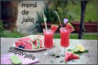 Propuestas de menú para JULIO
