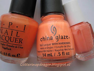 China Glaze comparison