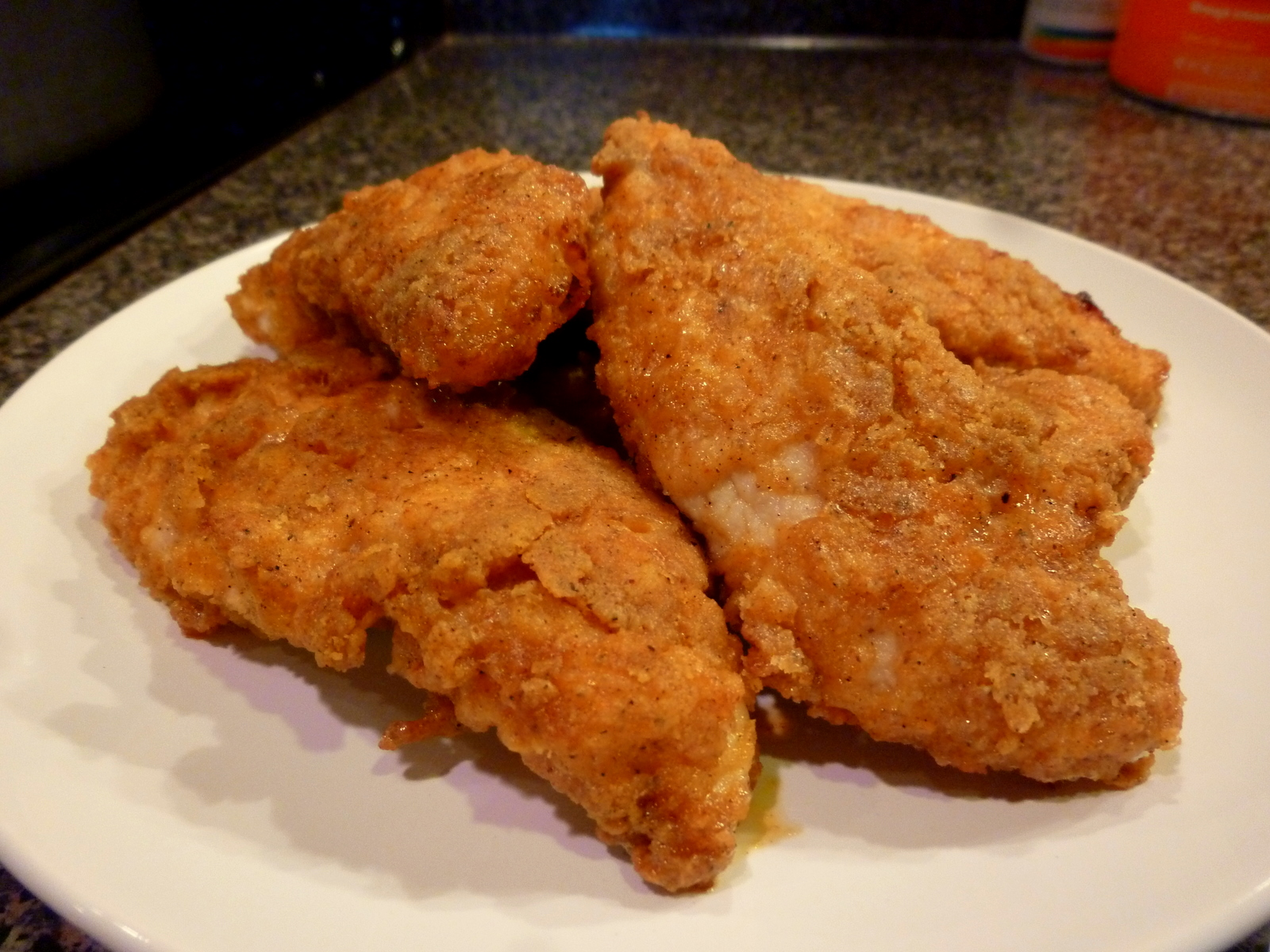 Fried chicken breast recipes uk