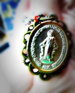 holy medal ring