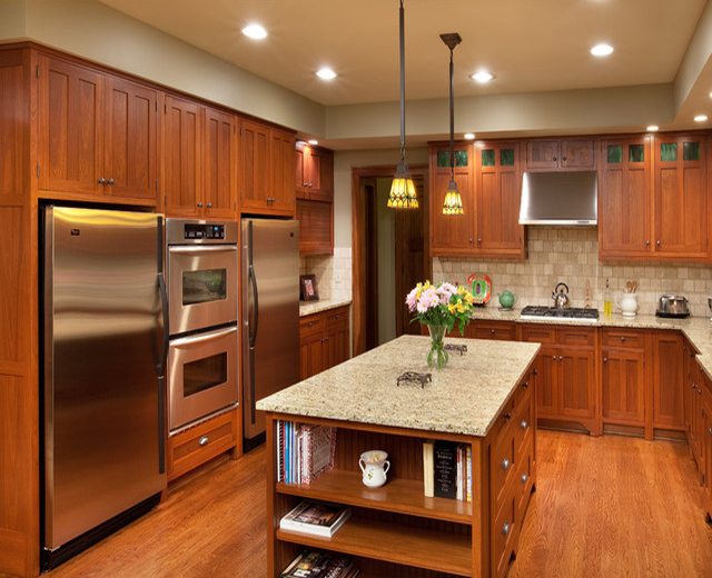 Craftsman Home Kitchen Cabinets