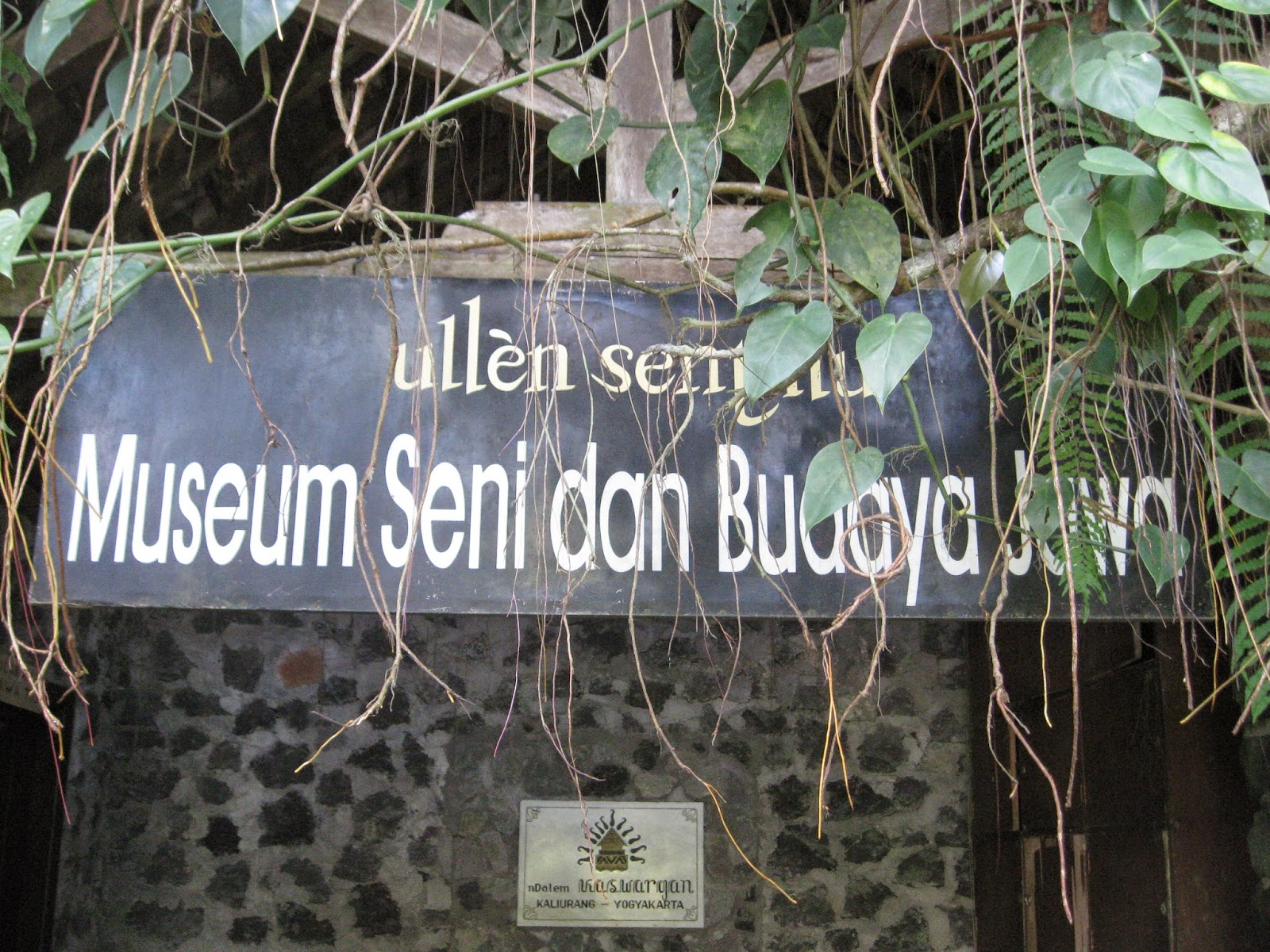 ulen sentalu museum