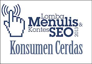 Lomba menulis kontes seo Konsumen Cerdas 2013