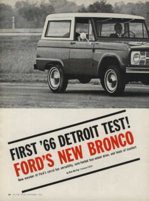 66ford bronco test 1 classic broncos october 2015