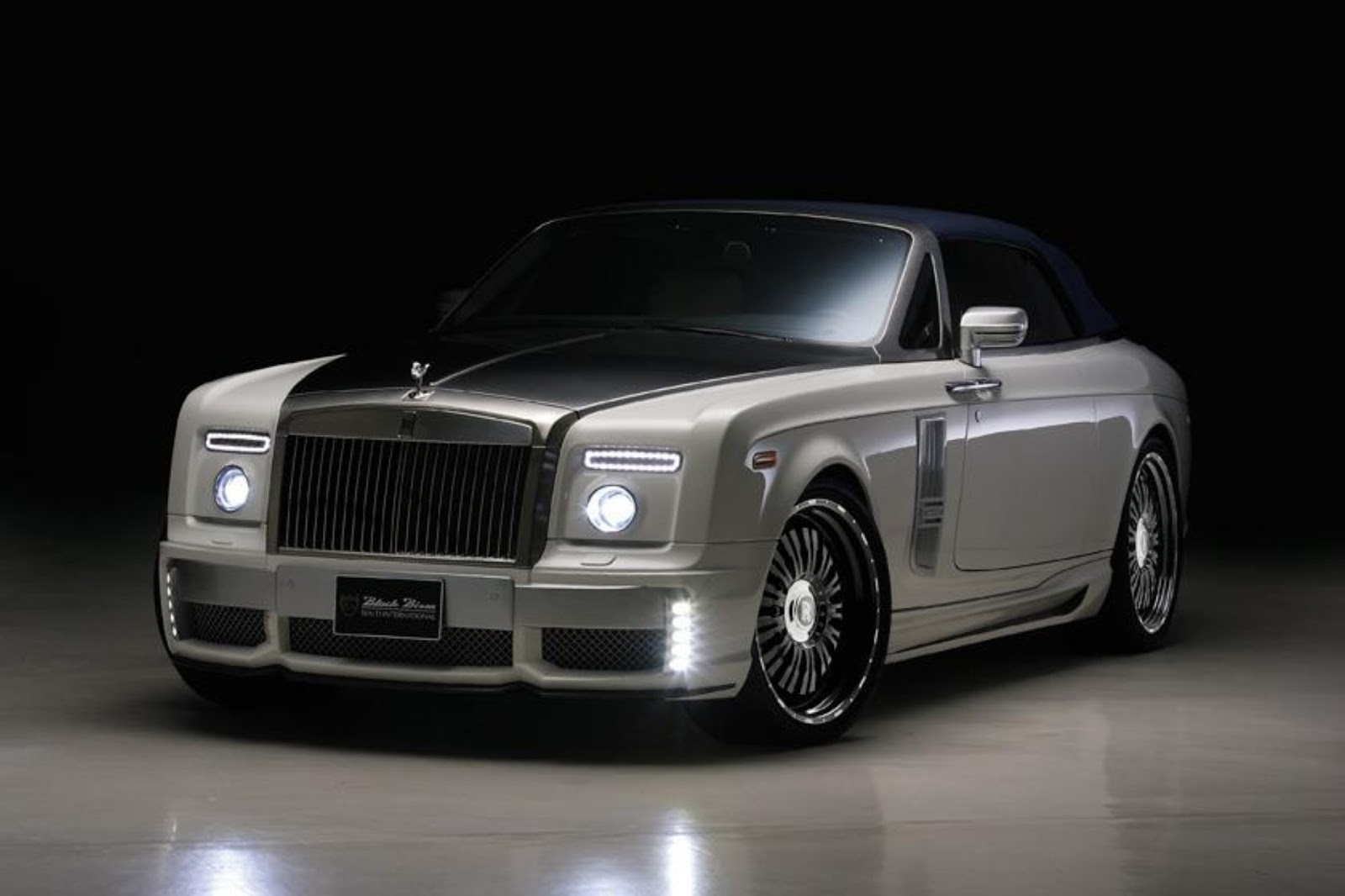 sports cars: rolls royce phantom drophead coupe wallpaper