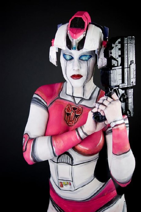 Transformers Bodypainting