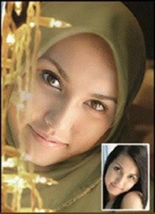 FOTO MIYABI MENJADI MUSLIM