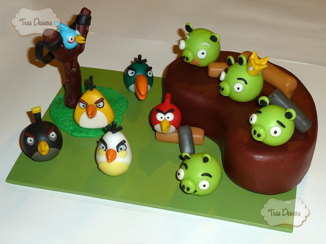 Tres Deseos: Cumpleaños Angry Birds
